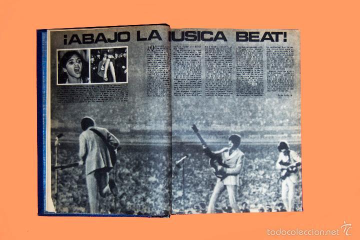 Coleccionismo de Los Domingos de ABC: SUPLEMENTOS LOS DOMINGOS DE ABC, AÑO 1969 COMPLETO Y ENCUADERNADO en tres TOMOS - Foto 6 - 55319251