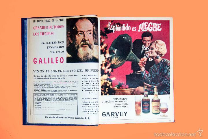 Coleccionismo de Los Domingos de ABC: SUPLEMENTOS LOS DOMINGOS DE ABC, AÑO 1969 COMPLETO Y ENCUADERNADO en tres TOMOS - Foto 7 - 55319251