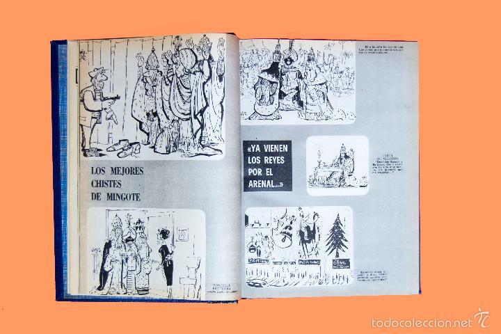 Coleccionismo de Los Domingos de ABC: SUPLEMENTOS LOS DOMINGOS DE ABC, AÑO 1969 COMPLETO Y ENCUADERNADO en tres TOMOS - Foto 8 - 55319251