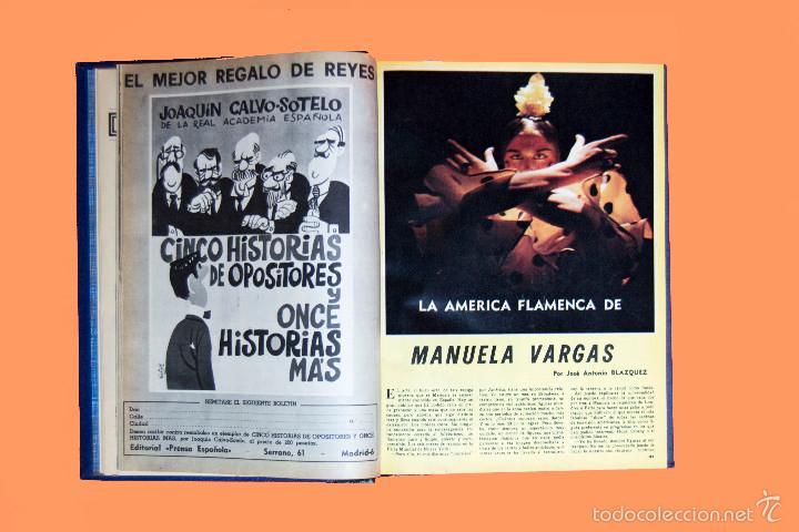 Coleccionismo de Los Domingos de ABC: SUPLEMENTOS LOS DOMINGOS DE ABC, AÑO 1969 COMPLETO Y ENCUADERNADO en tres TOMOS - Foto 9 - 55319251