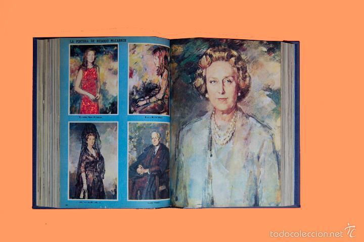 Coleccionismo de Los Domingos de ABC: SUPLEMENTOS LOS DOMINGOS DE ABC, AÑO 1969 COMPLETO Y ENCUADERNADO en tres TOMOS - Foto 10 - 55319251