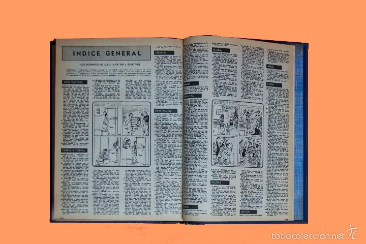 Coleccionismo de Los Domingos de ABC: SUPLEMENTOS LOS DOMINGOS DE ABC, AÑO 1969 COMPLETO Y ENCUADERNADO en tres TOMOS - Foto 14 - 55319251