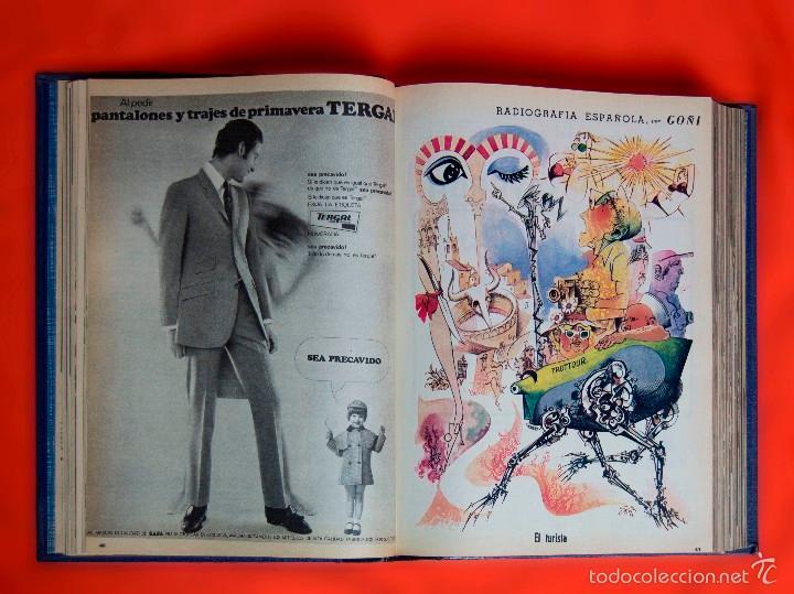 Coleccionismo de Los Domingos de ABC: SUPLEMENTOS LOS DOMINGOS DE ABC. AÑO 1968, SEGUNDO Y TERCER CUATRIMESTRE ENCUADERNADO EN DOS TOMOS - Foto 9 - 55366754