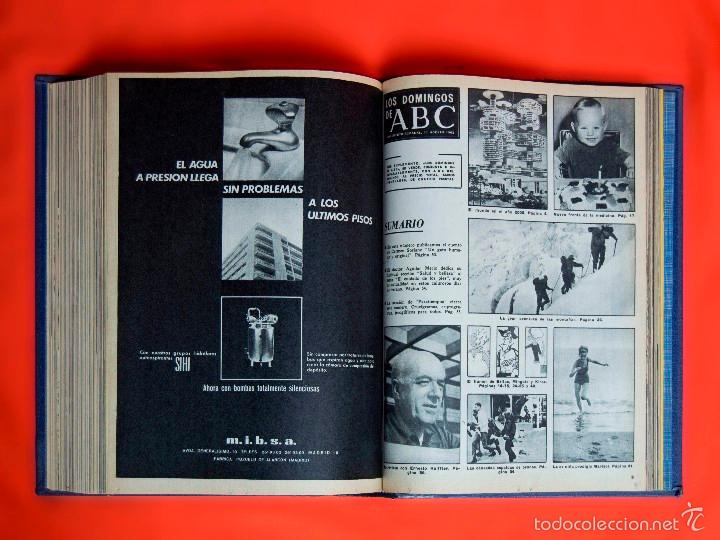 Coleccionismo de Los Domingos de ABC: SUPLEMENTOS LOS DOMINGOS DE ABC. AÑO 1968, SEGUNDO Y TERCER CUATRIMESTRE ENCUADERNADO EN DOS TOMOS - Foto 11 - 55366754