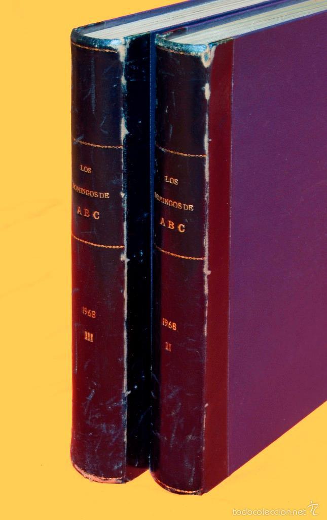 Coleccionismo de Los Domingos de ABC: SUPLEMENTOS LOS DOMINGOS DE ABC. AÑO 1968, SEGUNDO Y TERCER CUATRIMESTRE ENCUADERNADO EN DOS TOMOS - Foto 14 - 55366754