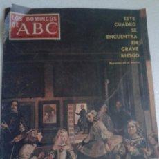 Coleccionismo de Los Domingos de ABC: LOS DOMINGOS DE ABC AÑO 1970 ROCIO DURCAL-JULITA MARTINEZ-CAMPEONATO TENIS PUERTA DE HIERRO. Lote 56005509