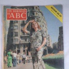 Coleccionismo de Los Domingos de ABC: LOS DOMINGOS DE ABC. 25 AGOSTO 1974. AMPARO RIVELLES, MUSSOLINI. Lote 56230416
