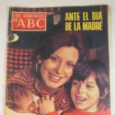 Coleccionismo de Los Domingos de ABC: LOS DOMINGOS DE ABC. 25 ABRIL 1976. ELISA RAMÍREZ EN PORTADA. Lote 56230675