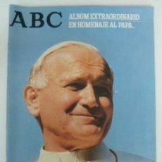 Coleccionismo de Los Domingos de ABC: JUAN PABLO II - ENCUENTRO EN ESPAÑA - ALBUM EXTRAORDINARIO EN HOMENAJE AL PAPA - ABC . Lote 56536374