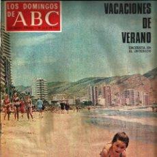 Coleccionismo de Los Domingos de ABC: LOS DOMINGOS DE ABC -1 DE JULIO DE 1973- FERNANDO REY. Lote 56942507