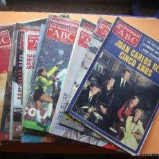Coleccionismo de Los Domingos de ABC: LOTE DE 25 REVISTAS LOS DOMINGOS DE ABC CE VENDEN JUNTAS O POR SEPARADO VER.... Lote 56969996