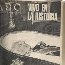 Colecionismo de Los Domingos de ABC: MINI LOTE 3 ABC 1975 ENTIERRO DE FRANCO VER FOTOS. Lote 57036321