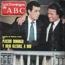 Coleccionismo de Los Domingos de ABC: LOS DOMINGOS DE ABC, 5 DE ABRIL DE 1981. *PILAR MIRÓ, EL TERRORISMO: SEMILLERO DE INFLUENCIA...*. Lote 57356506