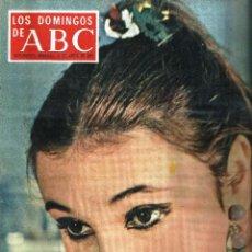 Coleccionismo de Los Domingos de ABC: LOS DOMINGOS DE ABC -12 DE ABRIL DE 1970- *AMPARO PAMPLONA, LOS MEJORES CHISTES DE MINGOTE*. Lote 57356620