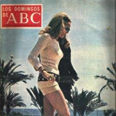 Coleccionismo de Los Domingos de ABC: LOS DOMINGOS DE ABC -16 DE DICIEMBRE DE 1973- *URSULA ANDRESS, EL MEJOR COCHE DE 1973*. Lote 57356820