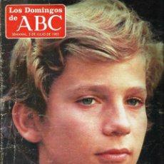 Coleccionismo de Los Domingos de ABC: LOS DOMINGOS DE ABC -3 DE JULIO DE 1983-. Lote 57357400