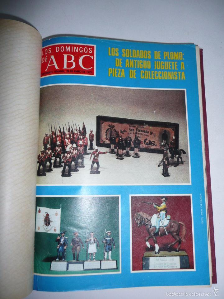 Coleccionismo de Los Domingos de ABC: Los domingos de ABC 23 números sueltos años 1977 y 1979 en 2 tomos - Suplemento semanal de ABC - Foto 4 - 57359188