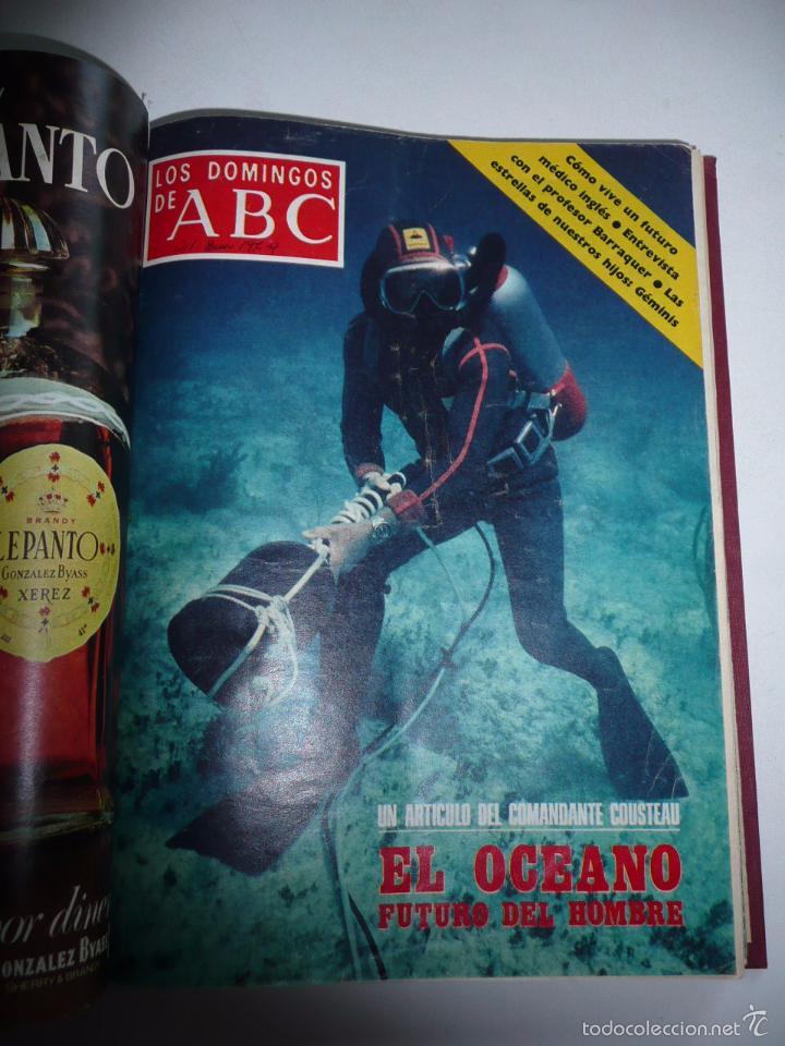 Coleccionismo de Los Domingos de ABC: Los domingos de ABC 23 números sueltos años 1977 y 1979 en 2 tomos - Suplemento semanal de ABC - Foto 5 - 57359188