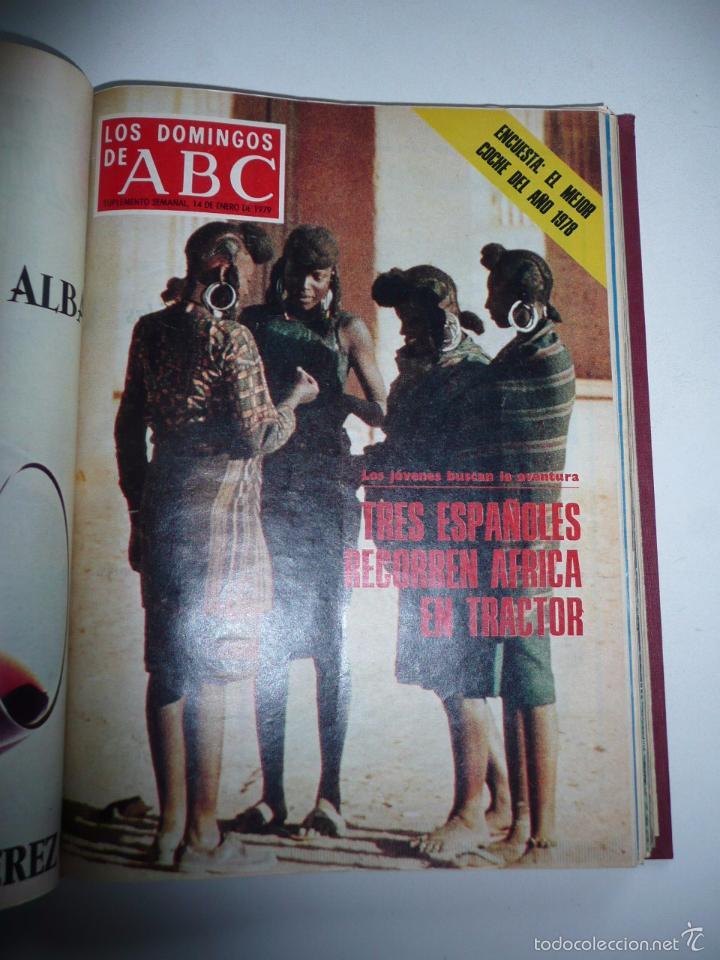 Coleccionismo de Los Domingos de ABC: Los domingos de ABC 23 números sueltos años 1977 y 1979 en 2 tomos - Suplemento semanal de ABC - Foto 6 - 57359188