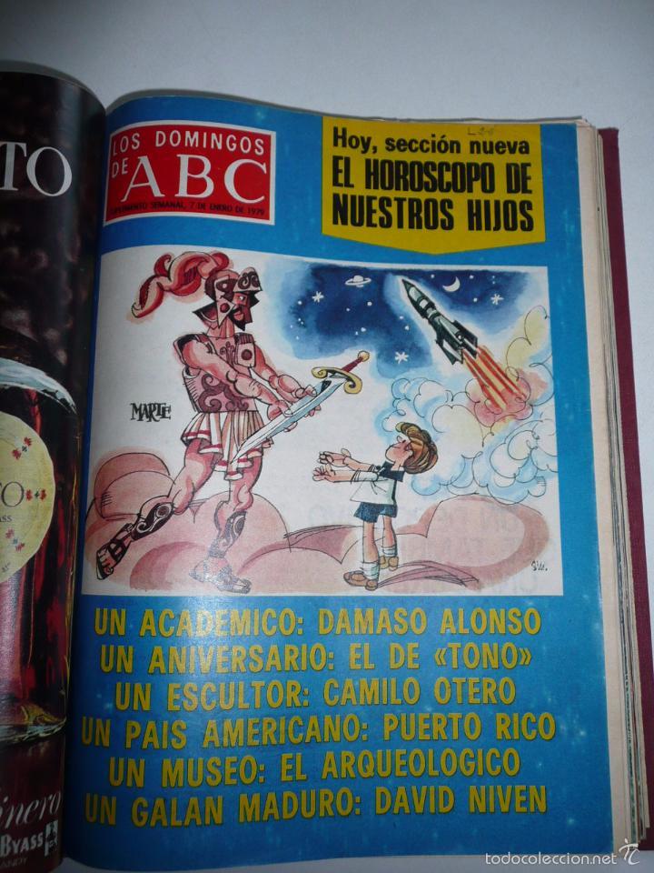 Coleccionismo de Los Domingos de ABC: Los domingos de ABC 23 números sueltos años 1977 y 1979 en 2 tomos - Suplemento semanal de ABC - Foto 7 - 57359188