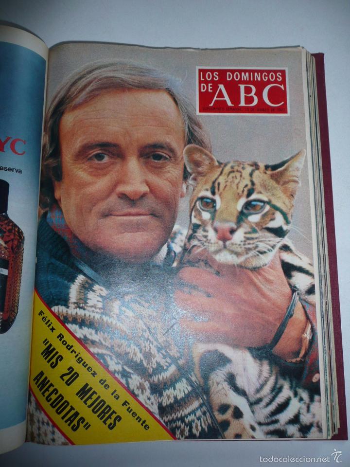 Coleccionismo de Los Domingos de ABC: Los domingos de ABC 23 números sueltos años 1977 y 1979 en 2 tomos - Suplemento semanal de ABC - Foto 8 - 57359188
