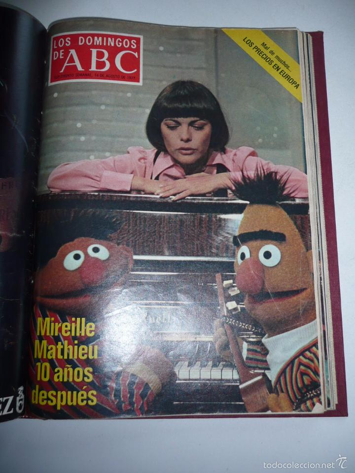 Coleccionismo de Los Domingos de ABC: Los domingos de ABC 23 números sueltos años 1977 y 1979 en 2 tomos - Suplemento semanal de ABC - Foto 10 - 57359188