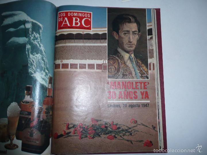 Coleccionismo de Los Domingos de ABC: Los domingos de ABC 23 números sueltos años 1977 y 1979 en 2 tomos - Suplemento semanal de ABC - Foto 11 - 57359188