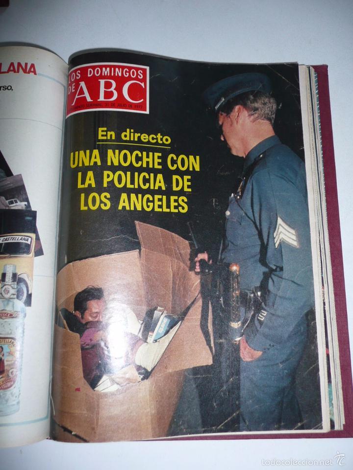 Coleccionismo de Los Domingos de ABC: Los domingos de ABC 23 números sueltos años 1977 y 1979 en 2 tomos - Suplemento semanal de ABC - Foto 12 - 57359188