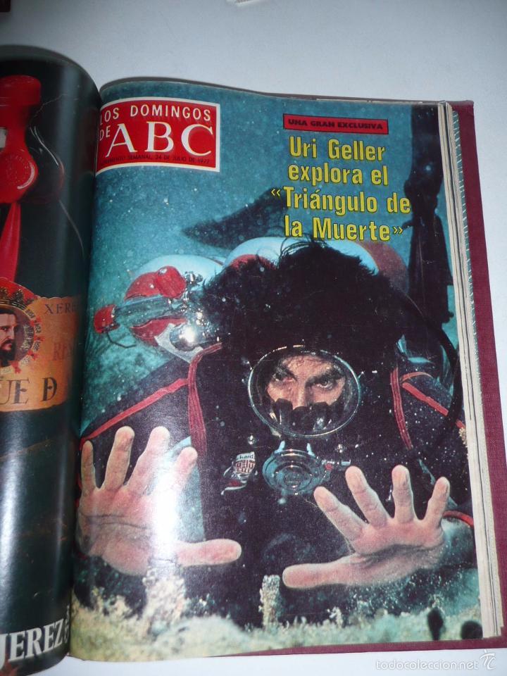 Coleccionismo de Los Domingos de ABC: Los domingos de ABC 23 números sueltos años 1977 y 1979 en 2 tomos - Suplemento semanal de ABC - Foto 13 - 57359188