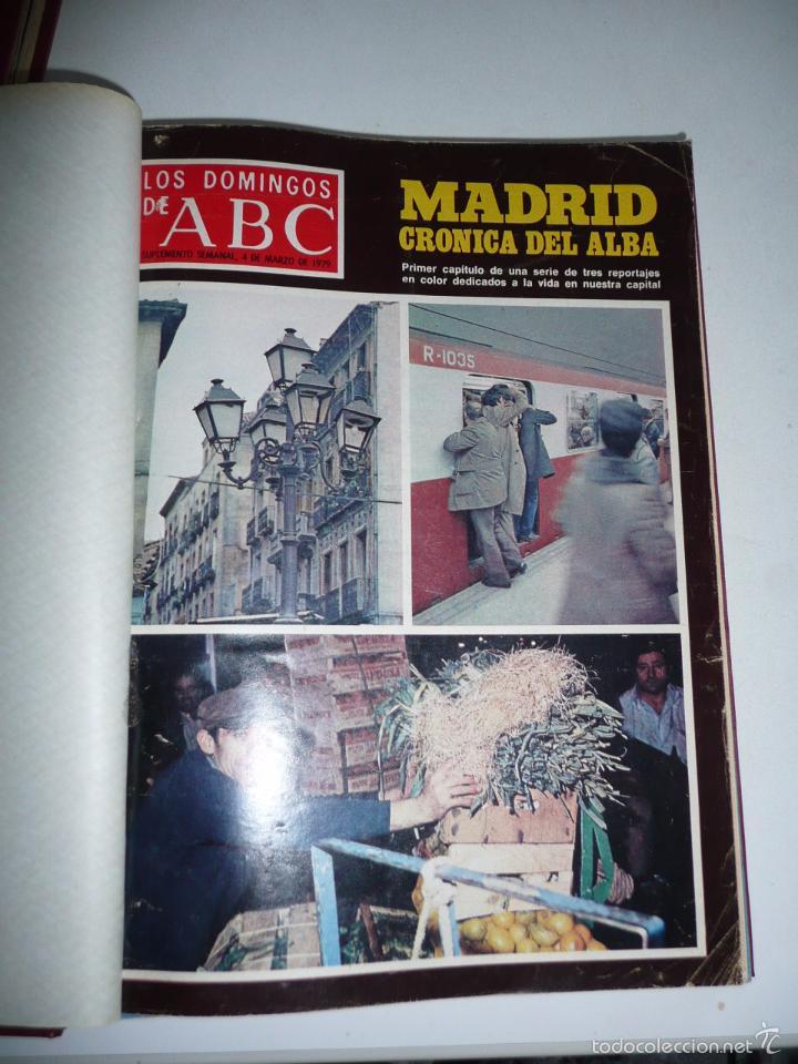 Coleccionismo de Los Domingos de ABC: Los domingos de ABC 23 números sueltos años 1977 y 1979 en 2 tomos - Suplemento semanal de ABC - Foto 15 - 57359188