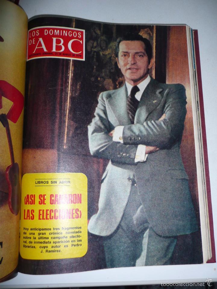 Coleccionismo de Los Domingos de ABC: Los domingos de ABC 23 números sueltos años 1977 y 1979 en 2 tomos - Suplemento semanal de ABC - Foto 18 - 57359188