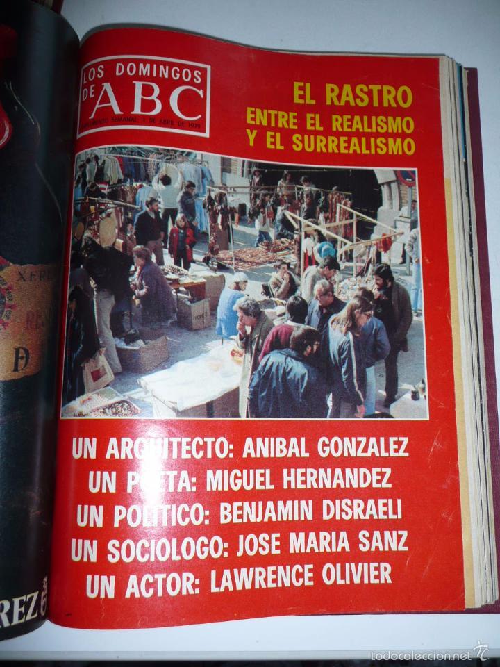 Coleccionismo de Los Domingos de ABC: Los domingos de ABC 23 números sueltos años 1977 y 1979 en 2 tomos - Suplemento semanal de ABC - Foto 19 - 57359188