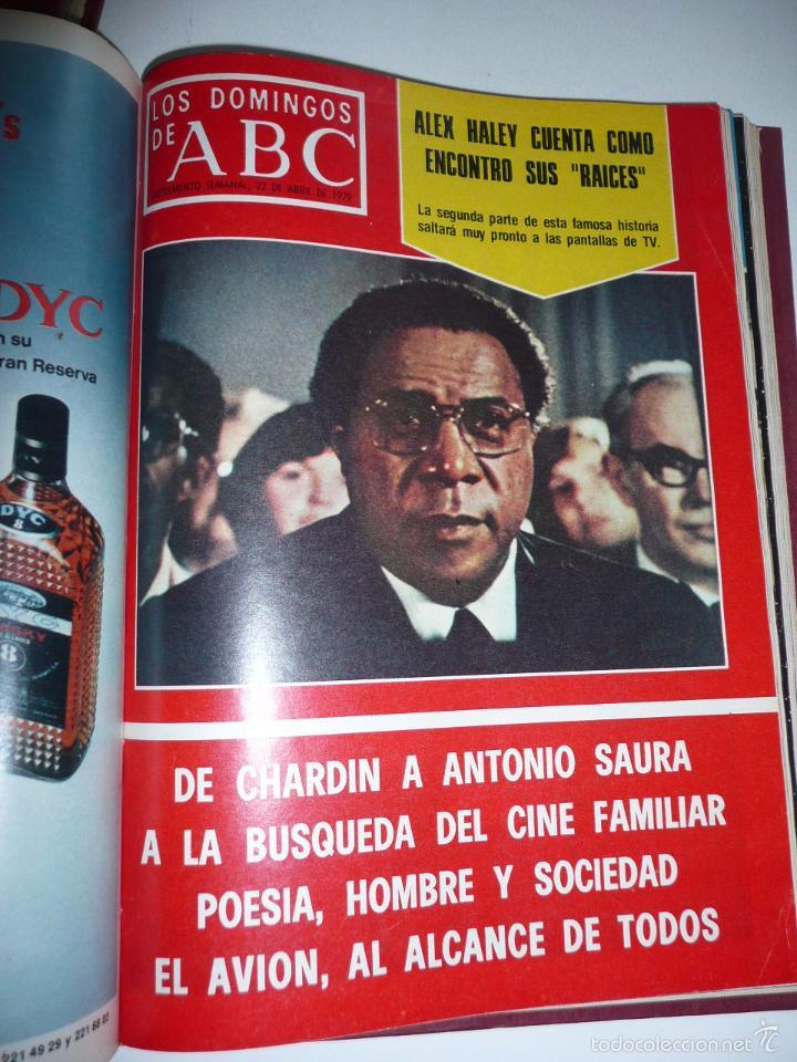 Coleccionismo de Los Domingos de ABC: Los domingos de ABC 23 números sueltos años 1977 y 1979 en 2 tomos - Suplemento semanal de ABC - Foto 22 - 57359188