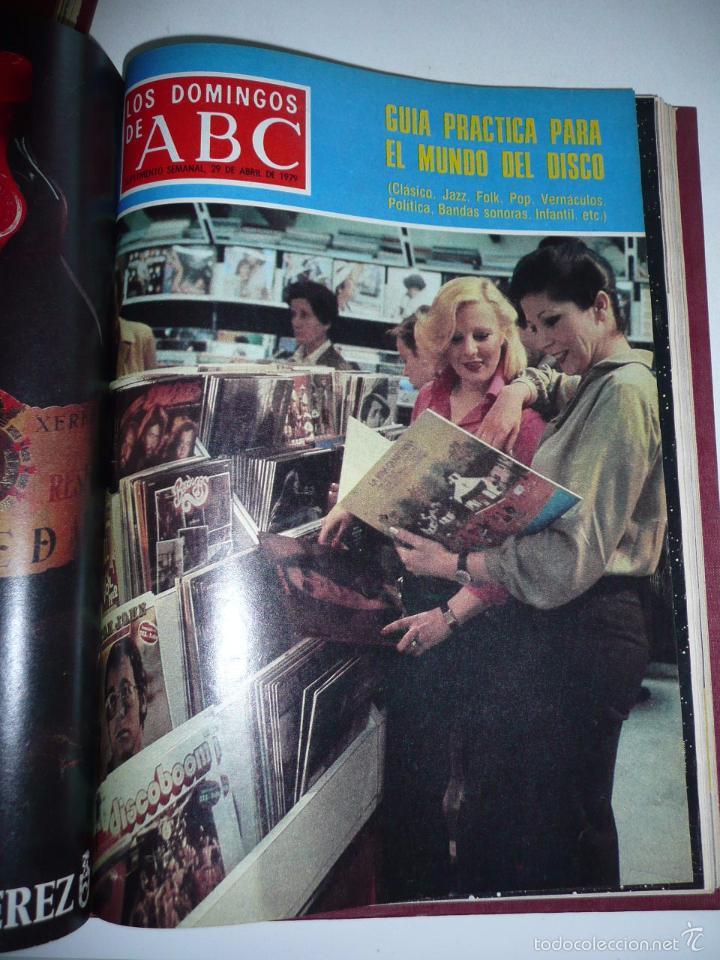 Coleccionismo de Los Domingos de ABC: Los domingos de ABC 23 números sueltos años 1977 y 1979 en 2 tomos - Suplemento semanal de ABC - Foto 23 - 57359188