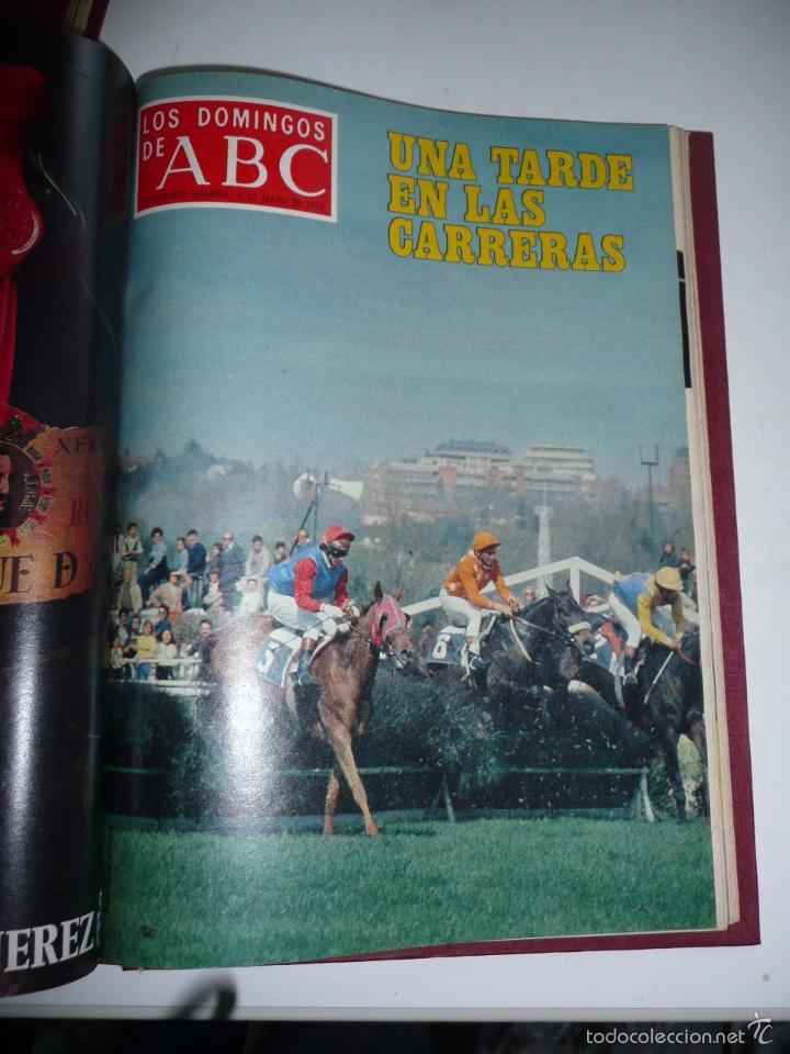 Coleccionismo de Los Domingos de ABC: Los domingos de ABC 23 números sueltos años 1977 y 1979 en 2 tomos - Suplemento semanal de ABC - Foto 24 - 57359188
