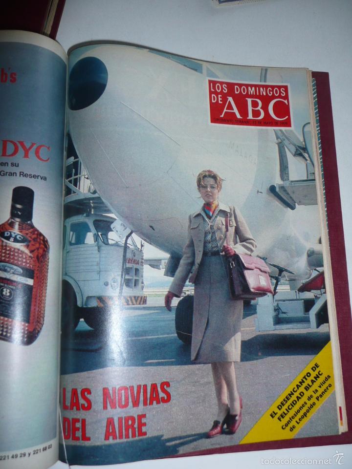 Coleccionismo de Los Domingos de ABC: Los domingos de ABC 23 números sueltos años 1977 y 1979 en 2 tomos - Suplemento semanal de ABC - Foto 25 - 57359188