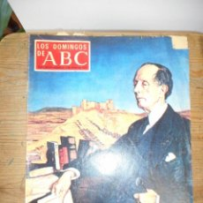 Coleccionismo de Los Domingos de ABC: REVISTA LOS DOMINGOS DE ABC, 3 DE JUNIO 1973. AZORÍN. Lote 57385686