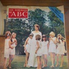 Coleccionismo de Los Domingos de ABC: REVISTA LOS DOMINGOS DE ABC, 9 DE DICIEMBRE1973. VANESSA REDGRAVE. Lote 57386280