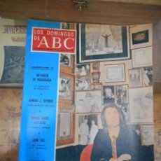 Coleccionismo de Los Domingos de ABC: REVISTA LOS DOMINGOS DE ABC, 5 DE MAYO 1974. RAPHAEL. Lote 57386450