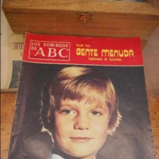 Coleccionismo de Los Domingos de ABC: REVISTA LOS DOMINGOS DE ABC, 11 DE ENERO 1976. PRÍNCIPE FELIPE. Lote 57386519