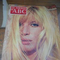 Coleccionismo de Los Domingos de ABC: REVISTA LOS DOMINGOS DE ABC, 28 DE ABRIL 1974. MONICA VITTI. Lote 57386703