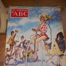 Collectionnisme de Los Domingos de ABC: REVISTA LOS DOMINGOS DE ABC, 30 DE DICIEMBRE 1973. FELIZ AÑO NUEVO. Lote 57386790