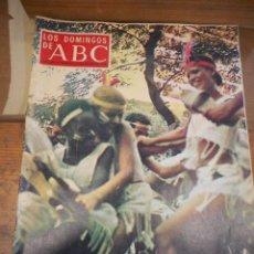Coleccionismo de Los Domingos de ABC: REVISTA LOS DOMINGOS DE ABC, 10 DE FEBRERO 1974. EL VUDÚ. Lote 57386918