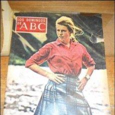 Coleccionismo de Los Domingos de ABC: REVISTA LOS DOMINGOS DE ABC, 11 DE NOVIEMBRE 1973. ANA DE INGLATERRA.. Lote 57386977