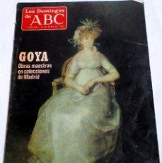 Coleccionismo de Los Domingos de ABC: LOS DOMINGOS DE ABC SEMANAL 10 DE ABRIL 1983 . Lote 57913824