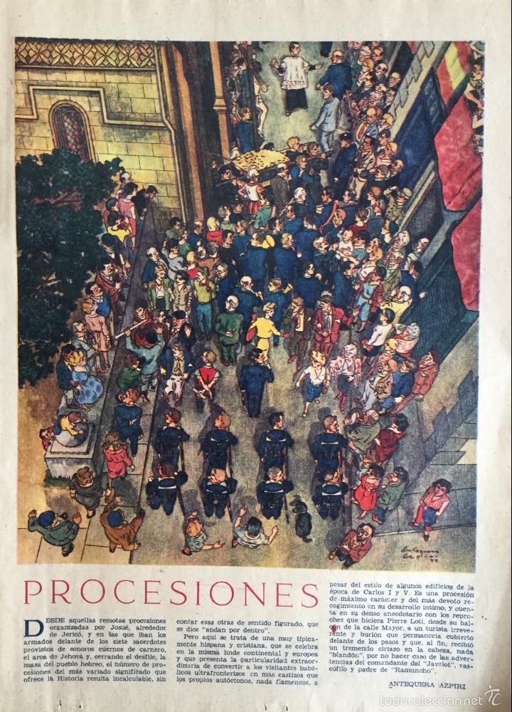 ilustración a color, procesiones de antequera a - Comprar Revista ...