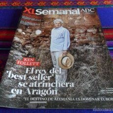 Coleccionismo de Los Domingos de ABC: XL SEMANAL ABC Nº 1300. 29-9-12. KEN FOLLETT, MORMONES, CLAUDIA CARDINALE.. Lote 58321428