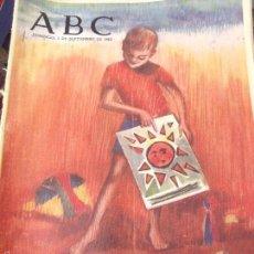 Coleccionismo de Los Domingos de ABC: ABC 1 SETIEMBRE 1963. Lote 58436214