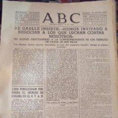 Coleccionismo de Los Domingos de ABC: ABC 21 DICIEMBRE 1959. Lote 58436606