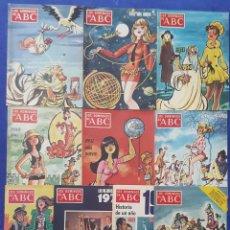 Coleccionismo de Los Domingos de ABC: LOS DOMINGOS DE ABC - FELIZ AÑO NUEVO - DESDE 1968 A 1977 ¡IMPECABLES!. Lote 58537600